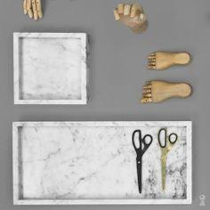 Ganbaroo loves this marble tray Marble Tray, Hay Accessories, Bathroom Redesign, Scandinavian Homewares, Interior Accessories, Decorative Accessories, Marble Interior, Kitchen Marble, Best Pens