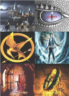 Harry Potter, Inheritance Cycle, the Hunger Games, Percy Jackson and the Olympians, the Chronicles of Narnia, the Lord of the Rings