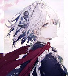 Dark Anime Girl, Cool Anime Girl, Pretty Anime Girl, Beautiful Anime Girl, Kawaii Anime Girl, Anime Art Girl, Chica Anime Manga, Manga Girl, Cute Anime Character