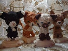 free cat crochet patterns | Click here for the free Amigurumi kitten pattern