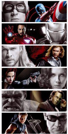 Marvel's The Avengers http://pinterest.com/yankeelisa/marvel-s-the-avengers/