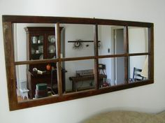 uses for old window frames | Old Windows Design Ideas, Pictures, Remodel, and Decor