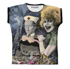 T-shirt Mupio by Artysta i Sztuka Available here: mupio.pl/ designer: Ewa Skaper #mupio @skaper