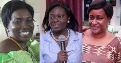 From left: Justice Afia Serwaa Asare Botwe, Justice Georgina Mensah Datsa and Justice Jennifer Amanda Dodoo