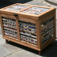Cherry Chest With Hockey Stick Accent custom made by Chair Built Custom Woodworking