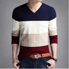 VXO Men pollovers knitted sweaters male casual Cashmere pullovers mens Thin V-Neck Pullover plus size Warm Sweaters, Pullover Sweaters, Sweaters For Women, Men Sweater, Sweatshirt, Gents T Shirts, Merino Wool Sweater, Mens Clothing Styles, Casual