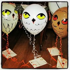 Grace's Scrap Attic: Harry Potter Invitations delivered Owl Post - Harry Potter Party Post #1