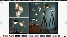 Love these lighting idea especially the spot light - next