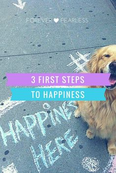 "3 First Steps to a Life of Happiness...I live by the adage ""Today I Pick Happiness!"" Visit www.ForeverFearlessMag.com for more beauty, fashion, lifestyle and more! XoXo, Miry"