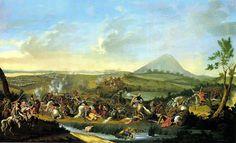 Jozséf Borsos: Battle of Mohács in 1867 Ottoman Empire, 17th Century, Golden Age, Art History, Oil On Canvas, Art Pieces, War, Gallery, Painting