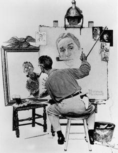 Norman Rockwell                        artist