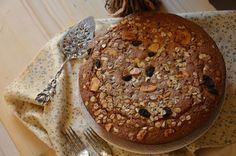 Bizcocho de harina integral de espelta. | Cuchillito y Tenedor