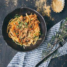 tomaattinen nyhtökaurapasta / Hannan soppa