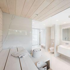 Home Design Decor, House Design, Interior Design, Brook House, Small Toilet Room, Sauna Design, Sauna Room, Bathroom Toilets, Bathroom Essentials