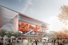 First (virtual) look at Sydney's International Convention Centre. The proposed ICC Sydney Theatre by Hassell and Populous