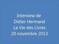 """Le romancier Didier Hermand présente son septième livre, """"Le Marionnettiste"""" (éditions Atria)."""