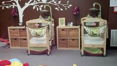 Dupont Nursery. Who wouldn't want to leave their precious infant in this room?
