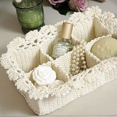 Crochet basket - love it!