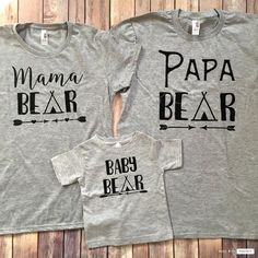 Show Your Love In Style! 22 Super Cute Family Tees!.... >> See even more at the photo link