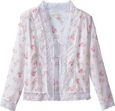 6e706e53525 Eileen West Morning Meadow Bed Jacket