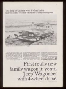 1964 Beach Surfboard Photo Jeep Wagoneer Print Ad | eBay