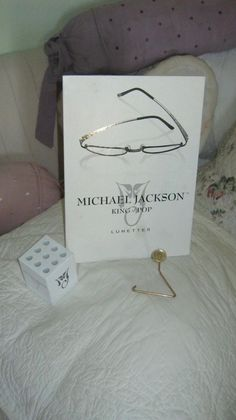 MICHAEL JACKSON HISTORY MYSTERY EO ORIGINAL EYE GLASSES 3 ITEM SET PROMO XSCAPE