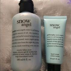 SOLDPhilosophy Snow Angel Shampoo & Hand Cream New Philosophy Snow Angel Shampoo, Shower Gel & Bubble Bath  And Hand Cream Philosophy Other