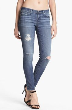 AG Super Skinny Ankle Leggings (16 Year Swapmeet) available at #Nordstrom