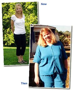 Debbie Blair lost 110lbs and now volunteers her time hosting Weigh Down classes to help others lose weight permanently too!  www.weighdown.com