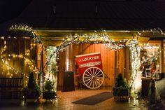 Angus Barn Wedding, Raleigh NC, Winter Wedding
