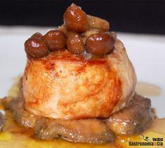 Receta de Solomillo con foie y setas Meat Lovers, Flan, Deli, Tapas, Chicken Recipes, French Toast, Food And Drink, Yummy Food, Favorite Recipes
