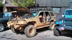 What a Jeep should look like.  No mall crawler here.