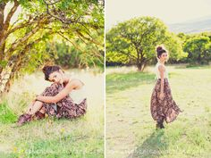Natural makeup. Stephanie Sunderland Photography. Utah senior photography. Natural curly hair. Vintage outfit ideas.