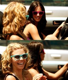 Jessica Lowndes and Annalynne Mccord