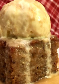 The BEST Sticky Toffee Pudding Cake
