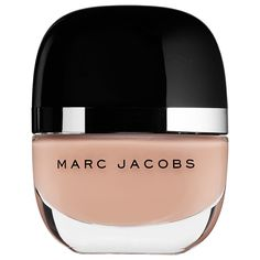 Opaque Warm Peachy Beige Nail Lacquer by Marc Jacobs Beauty  #nails #mani  #nailpolish