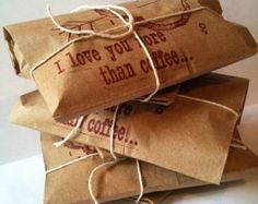 Coffee gift - Apropos Roasters via Etsy