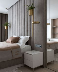bedroom bed master bedroom interior design bedroom designs for women bedroom furnishings blue modern bedroom mirror bedroom decor paint el SULTANGAZI SEARCH Modern Luxury Bedroom, Luxury Bedroom Design, Master Bedroom Interior, Bedroom Bed Design, Apartment Bedroom Decor, Luxury Home Decor, Contemporary Bedroom, Luxurious Bedrooms, Stylish Bedroom