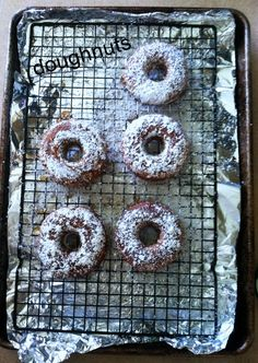 Paleo friendly donuts - My kids went crazy for these and they'll make a great quick breakfast with school starting.
