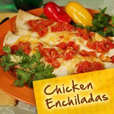 Hispanic Diabetes Recipes: Chicken Enchiladas
