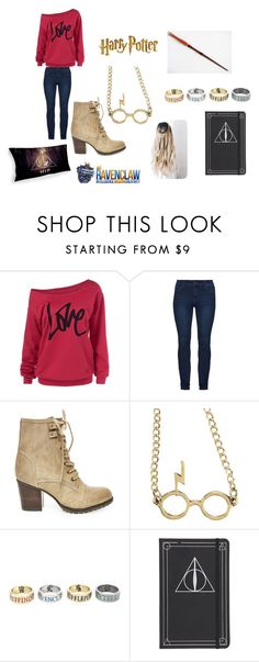 """""""At Hogwarts!"""" by cabre8500 on Polyvore featuring Steve Madden and Warner Bros."""