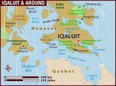 map of iqaluit nunavut