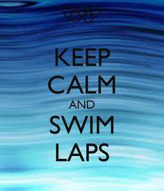 Swim laps
