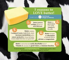 #NutrionalWeightAndWellness gives us 5 reasons to love butter! #IHaveArthritis