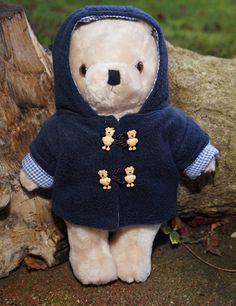 Schnittmuster: Dufflecoat für Bären