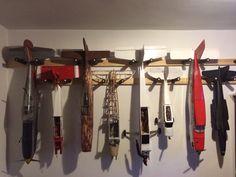 Airplane rack