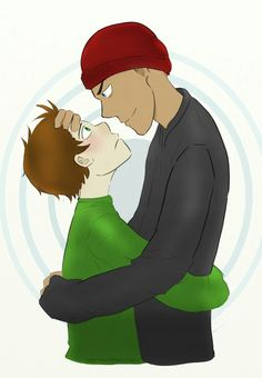 Don't know why I pinned this, I don't even ship it. (I guess I just kinda like the picture in general)