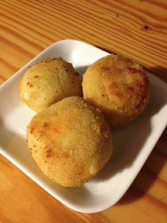 """Croquetas """"3 Quesos"""" para #Mycook http://www.mycook.es/receta/croquetas-3-quesos/"""