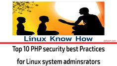 How secure is your PHP application?  Follow this article to secure your PHP application on your web server.