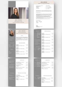CV resume template for a lot of work experience. Highlights: + 6 pages + support . Cv Resume Template, Resume Design Template, Foto Cv, Cv Simple, Simple Resume, Cv Curriculum, Cv Inspiration, Resume Layout, Creative Cv Template